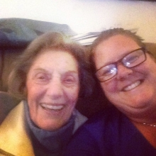 """Someone I love"" Selfie with my grandma. She is absolutely someone I love #365"